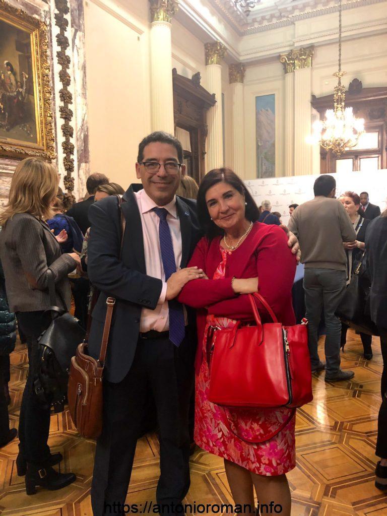 Con Glòria Pérez-Salmerón