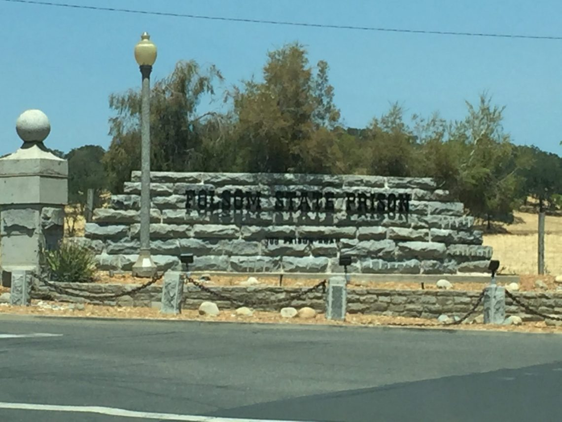 Entrada a la Prisión Estatal de Folsom