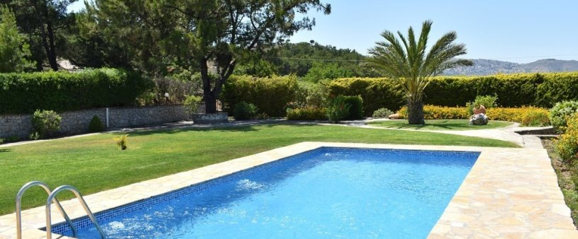 Pool and garden view