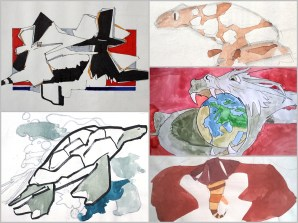 collage animales 7 gris 366 kb