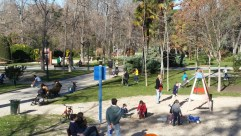 One of many children's playgrounds