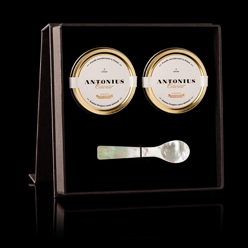 6 Star Oscietra Caviar Gift Set