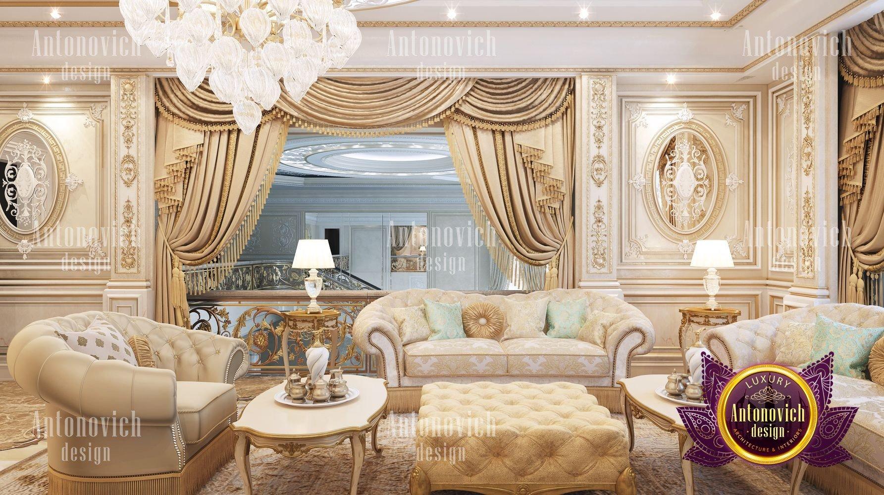 Luxury sitting room design