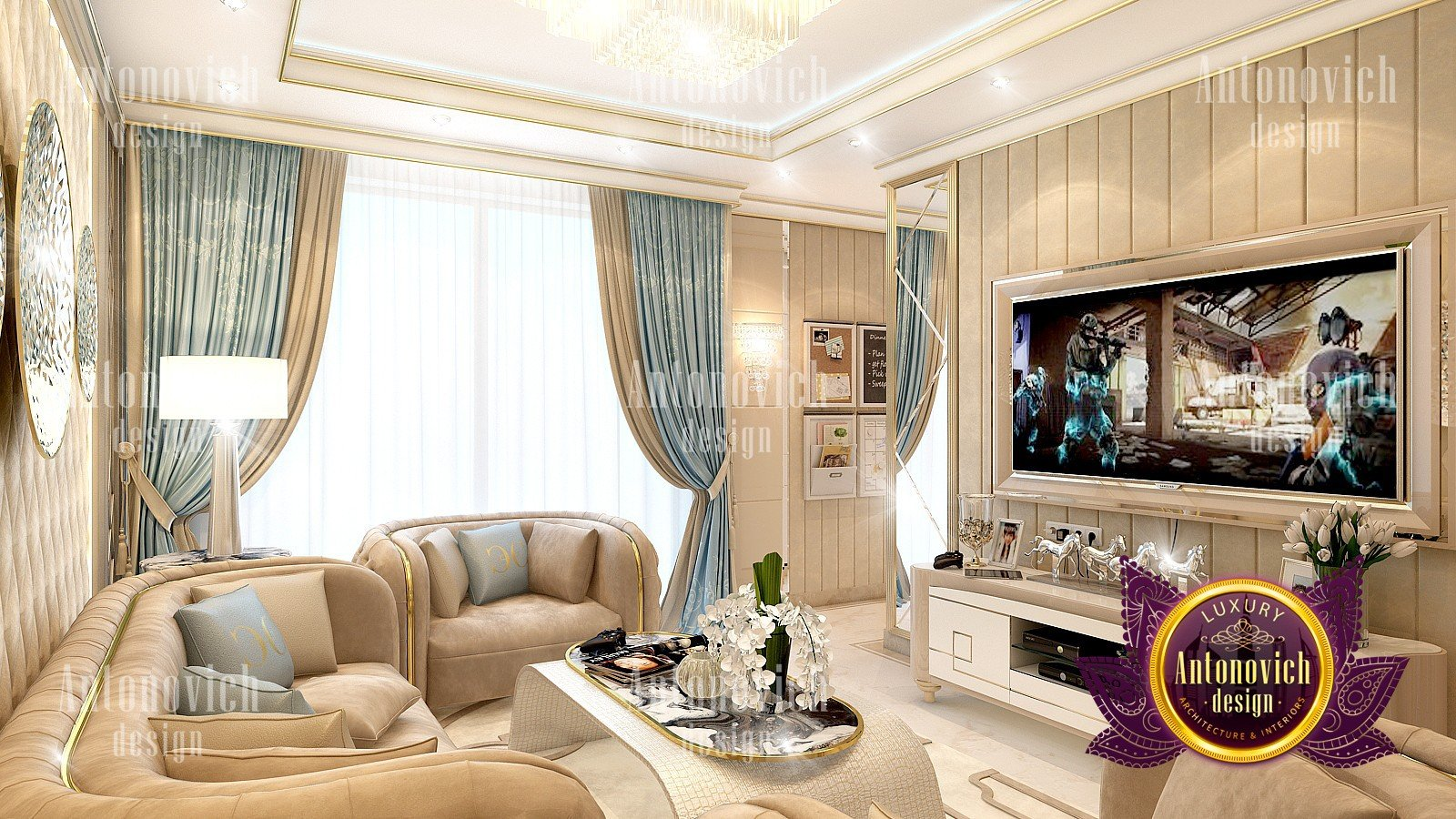 Modern Family Sitting Room