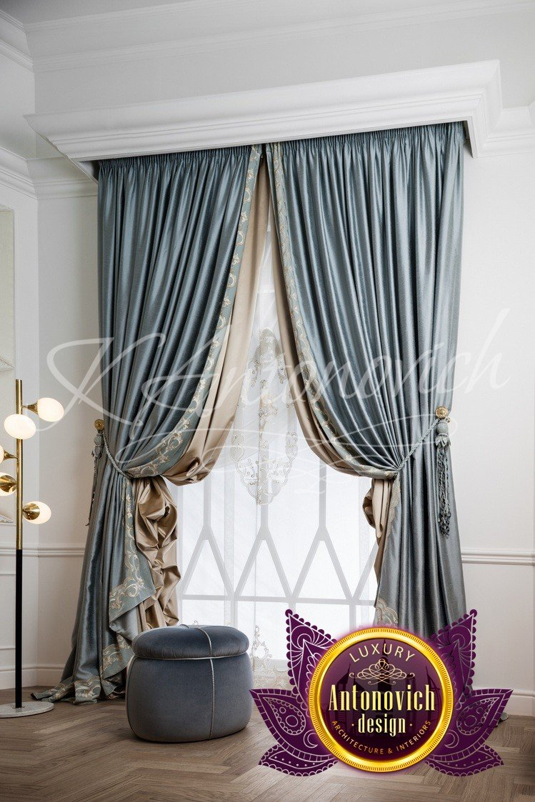 Curtains Dubai Sharjah and Abu Dhabi by Luxury Antonovich Design