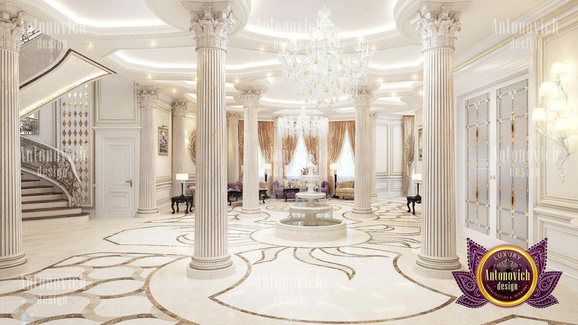 Luxury Carved Marble floors