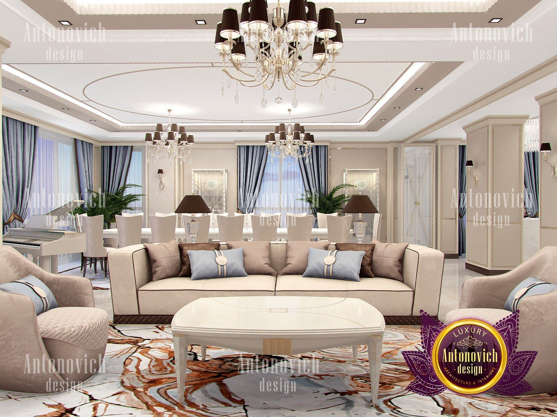 Luxury Living room in Classics