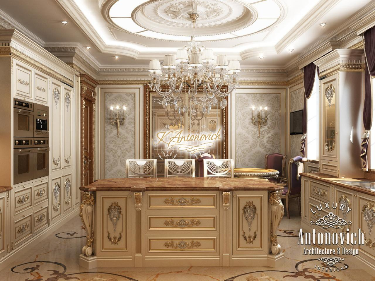 french style kitchen furniture hanging shelves luxury classic