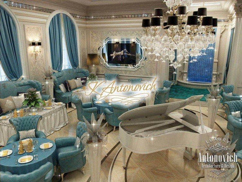 Restaurant Interior Design In Dubai