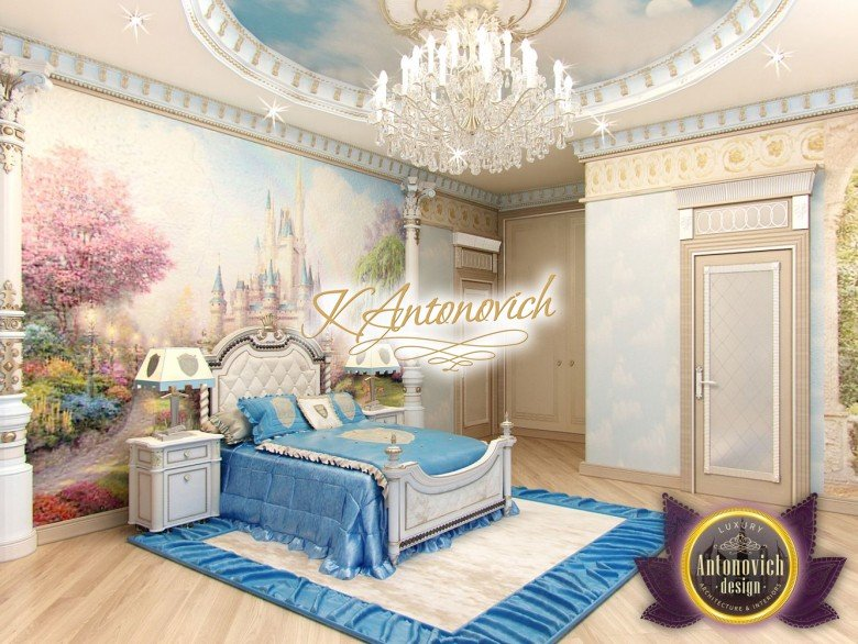 Kids bedroom furniture Luxury Antonovich Design