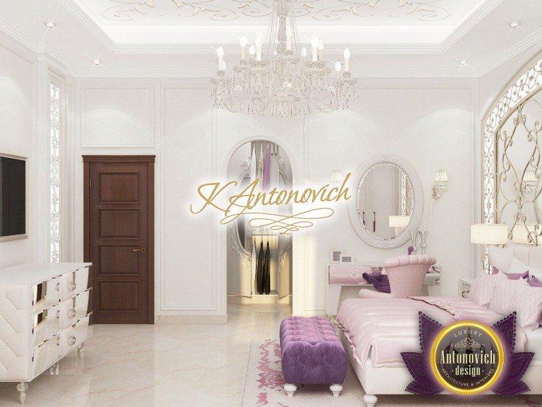 Luxury Bedroom Interior Design For The Girl Teen