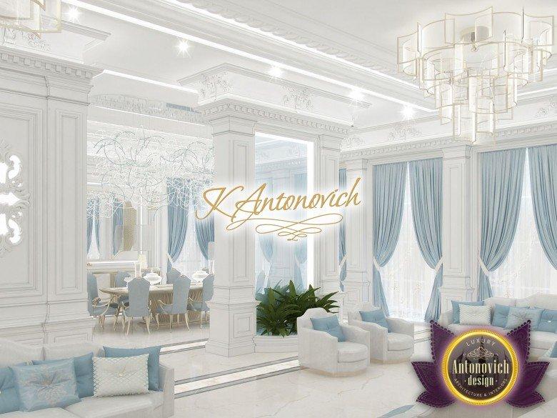 Luxury Interior Design Living Rooms in Qatar