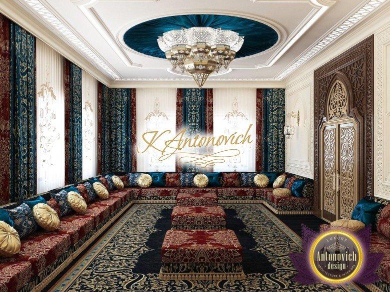 Luxury Arabic Design Majlist in Saudi Arabia