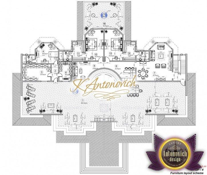 Luxury Villa Plan UAE 20