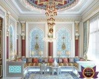 Moroccan sitting room