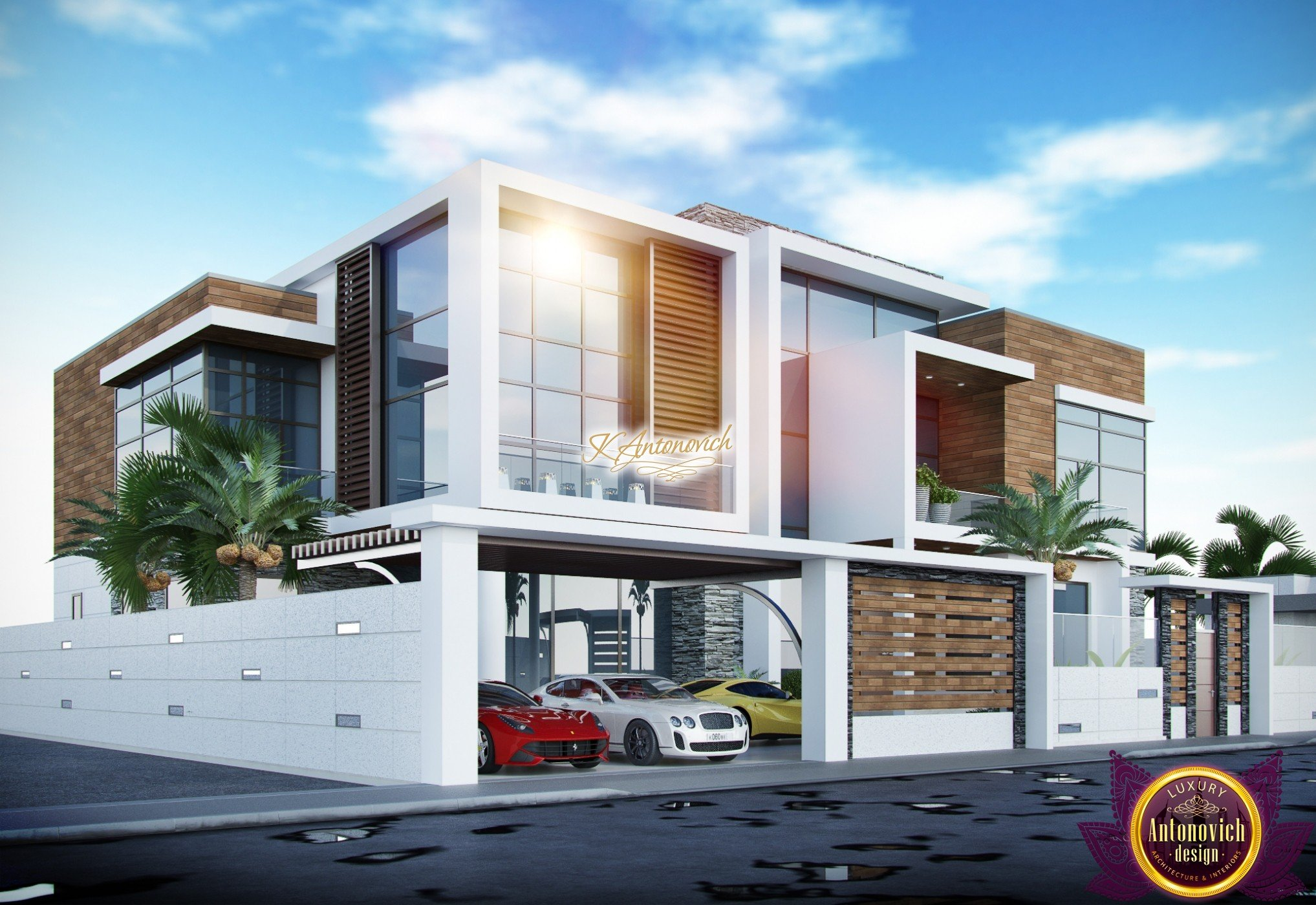 Modern Luxury Villa exterior design