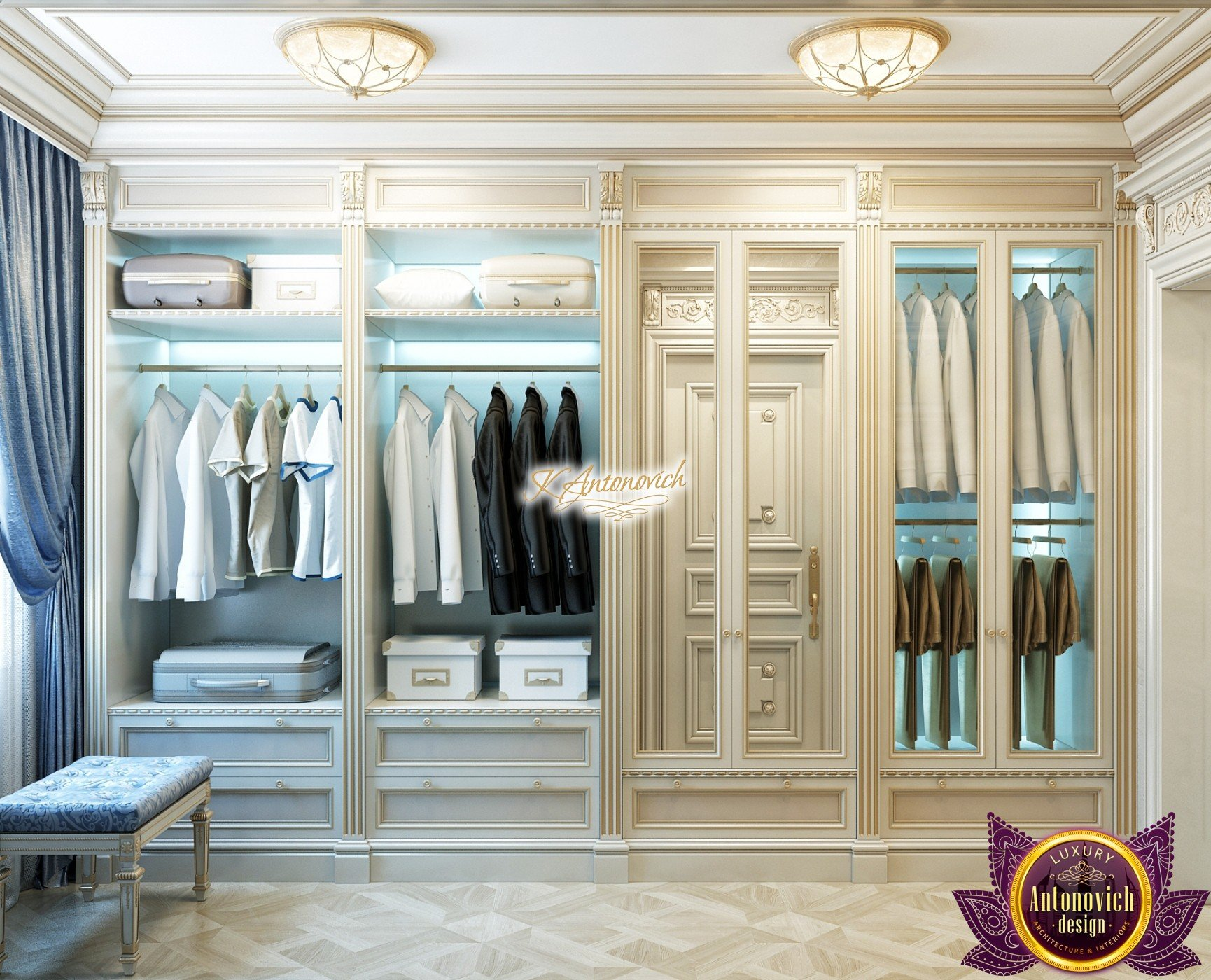 Luxury Wardrobe Interior