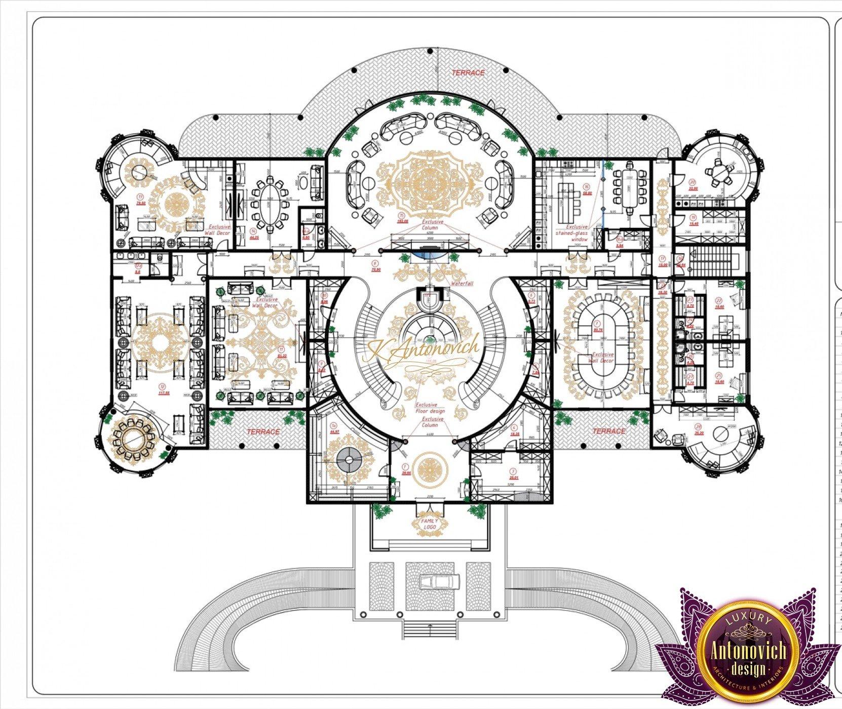 Luxury House Plan Zimbabwe