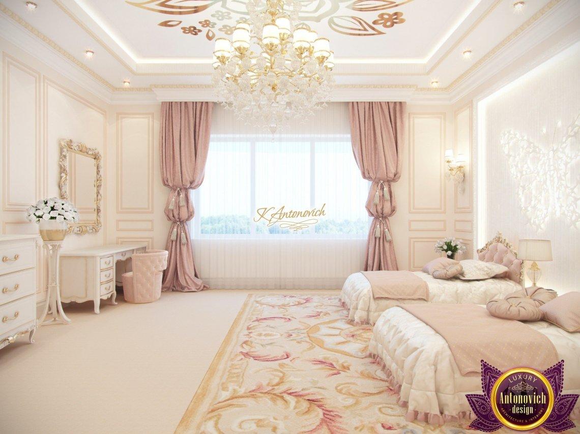 Kids bedroom for girls