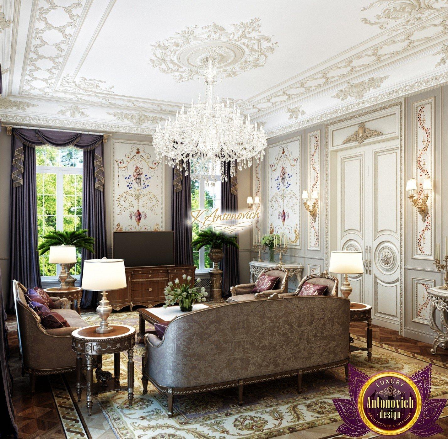 Luxury Classic Living rooms