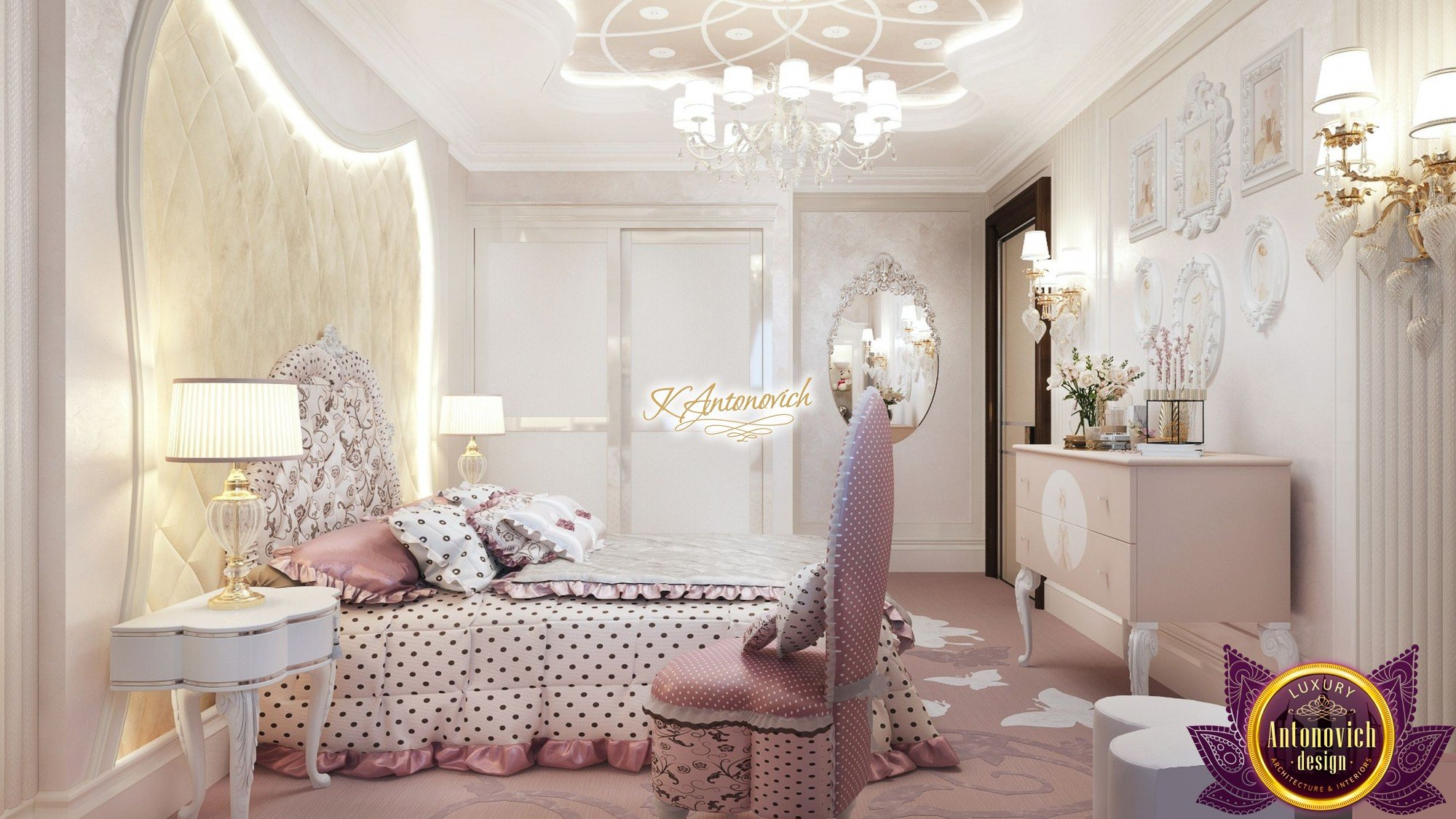 Luxury Kids Bedroom Interior