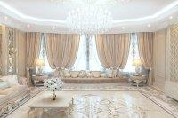 Living room design in Tanzania