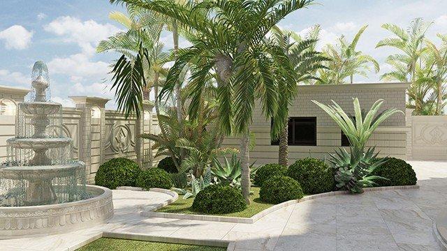 Original Landscape Design in Dubai by Luxury Antonovich Design