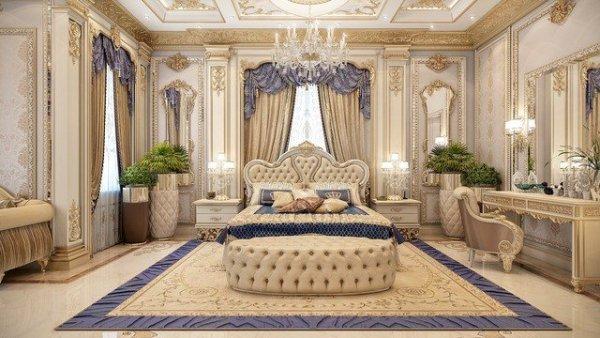 elegant bedroom interior design Bedroom Interior Design in Dubai by Luxury Antonovich Design