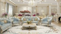 Admirable Living Room Design in Dubai by Luxury Antonovich ...