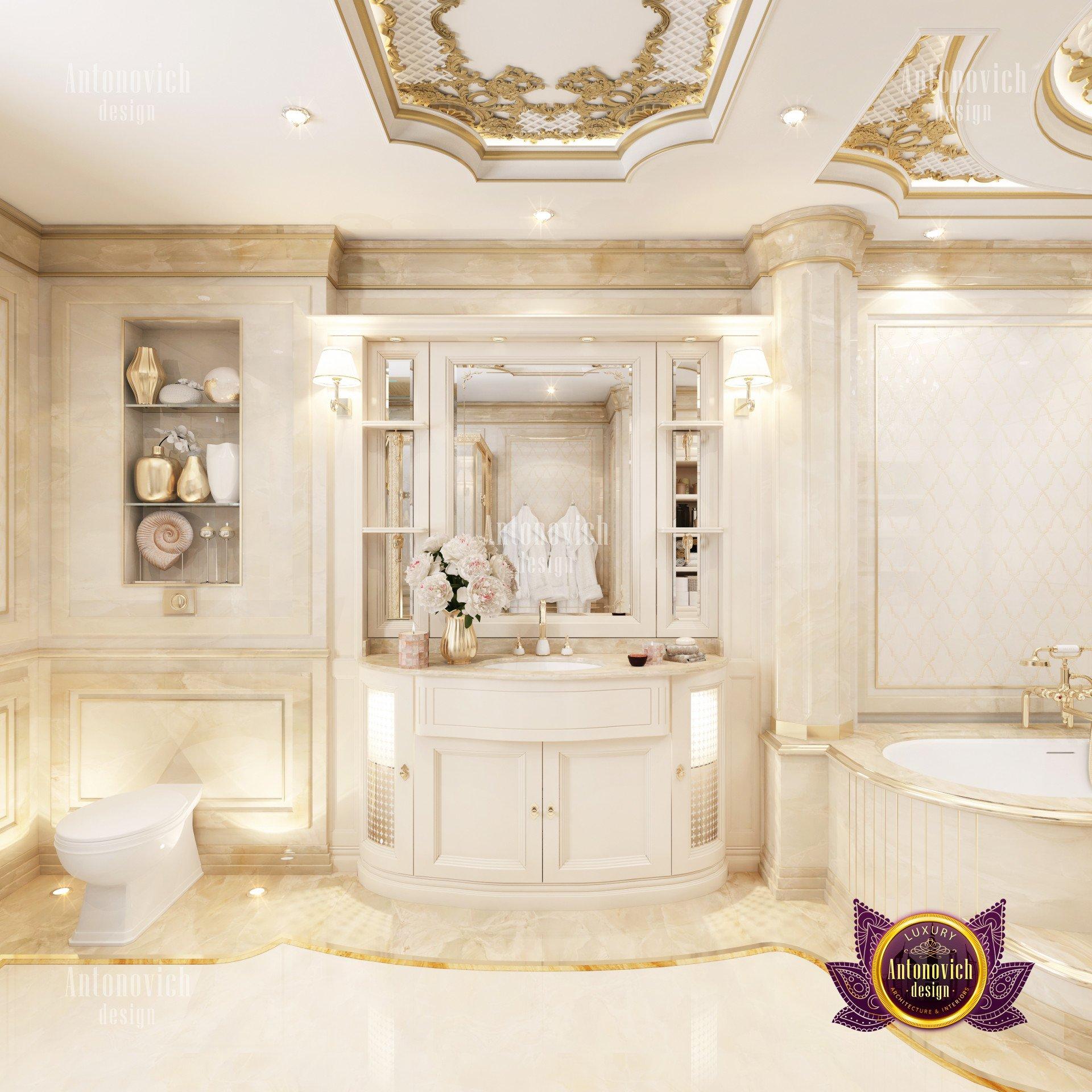 New Classic Bathroom Interior Luxury Interior Design