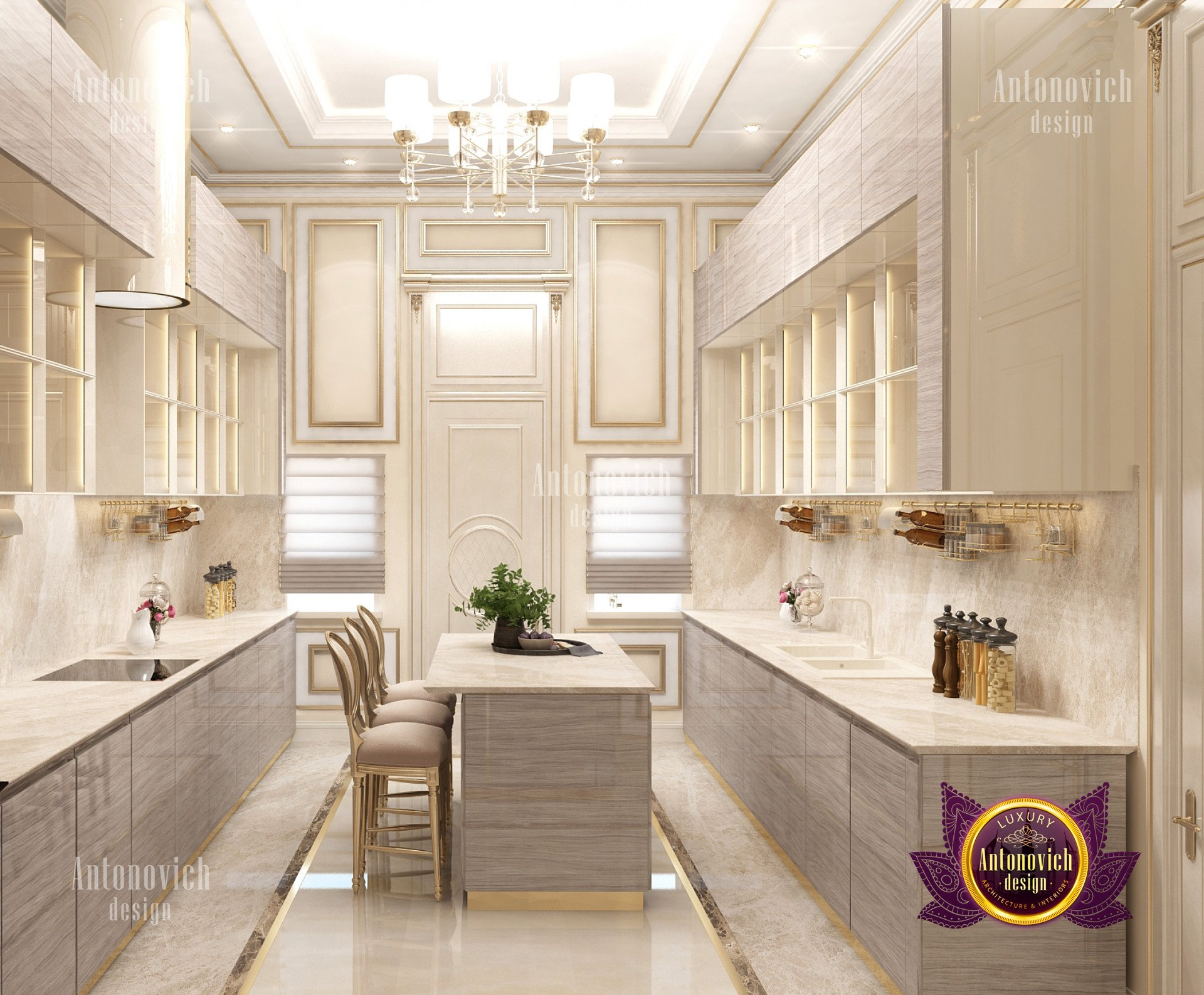There's something about the emptiness or untidiness of an undecorated room that instantly strikes anxiety into the heart of a type a personality. Kitchen modern interior design - luxury interior design