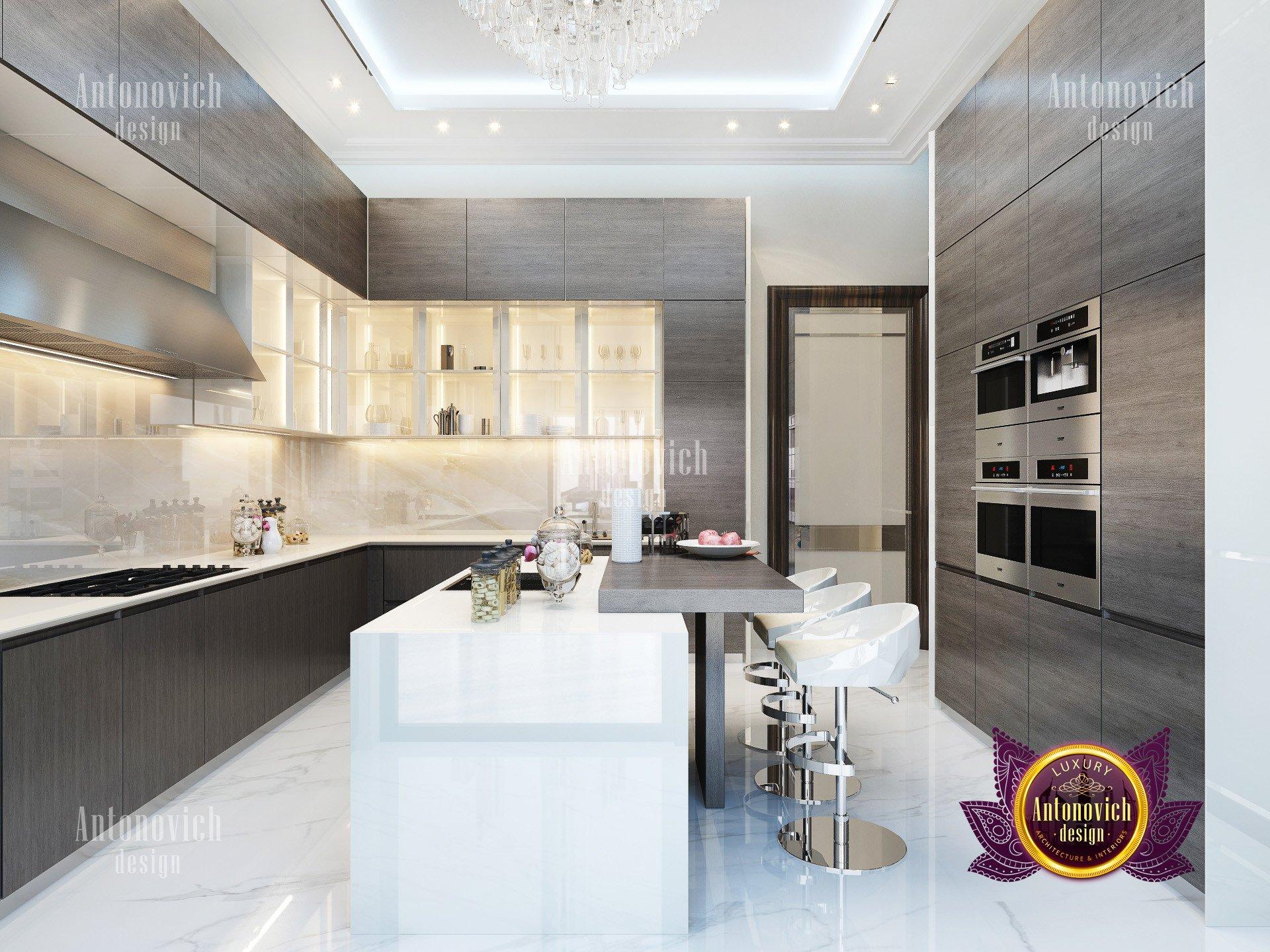 Super Modern Kitchen Luxury Antonovich Design USA