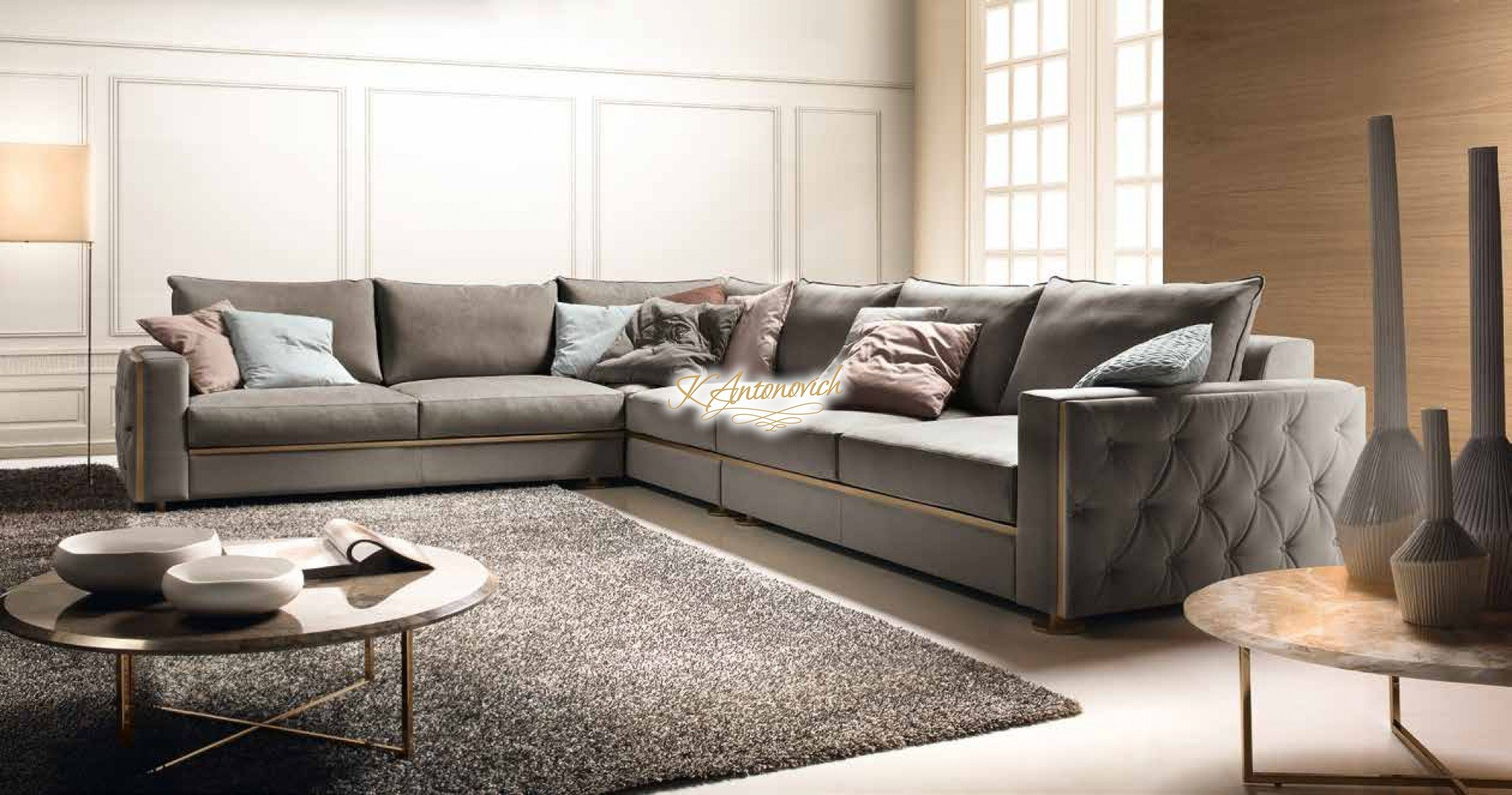 The possibilities are endless when you use white as the base of your color palette for your living room furniture. Modern italian living room furniture - luxury interior ...