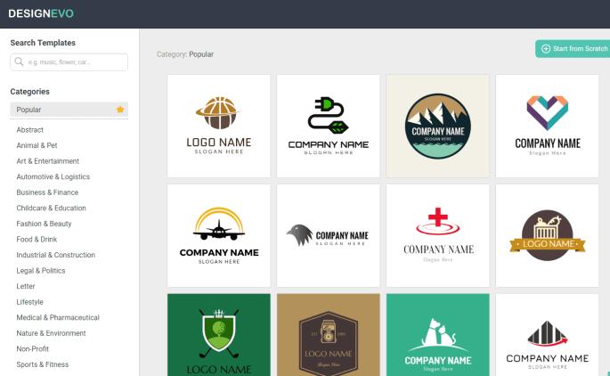 DesignEvo Review: Best Free Online Logo Maker