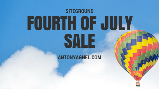 4th Of July Sale – Save 70% Off On SiteGround Web Hosting