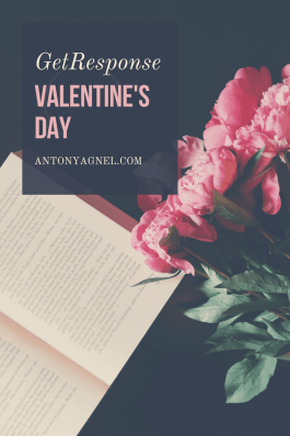 GetResponse Email Marketers Valentine's Day Sale