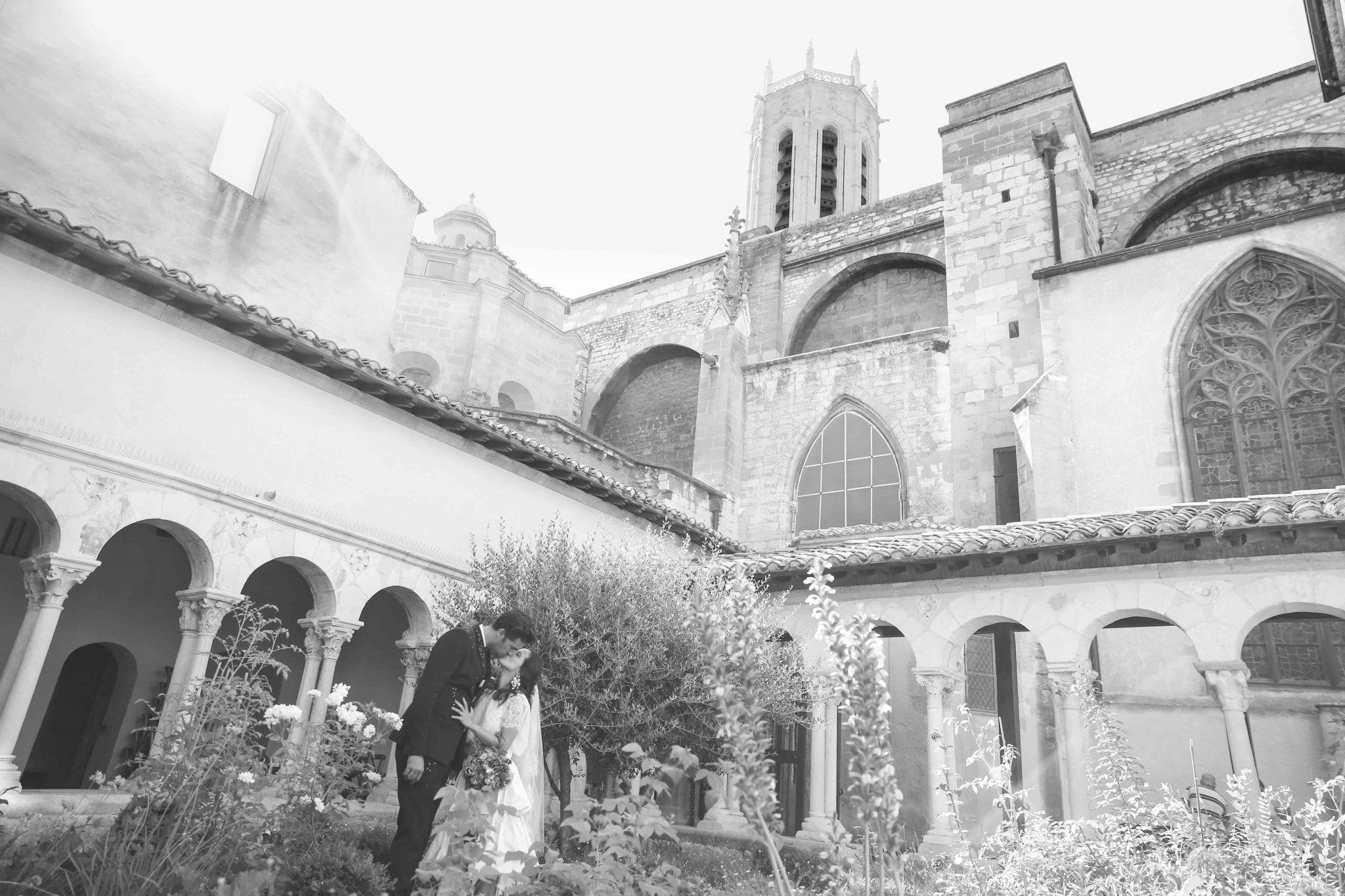 Mariage Cloitre Cathédrale saint Sauveur Aix en Provence