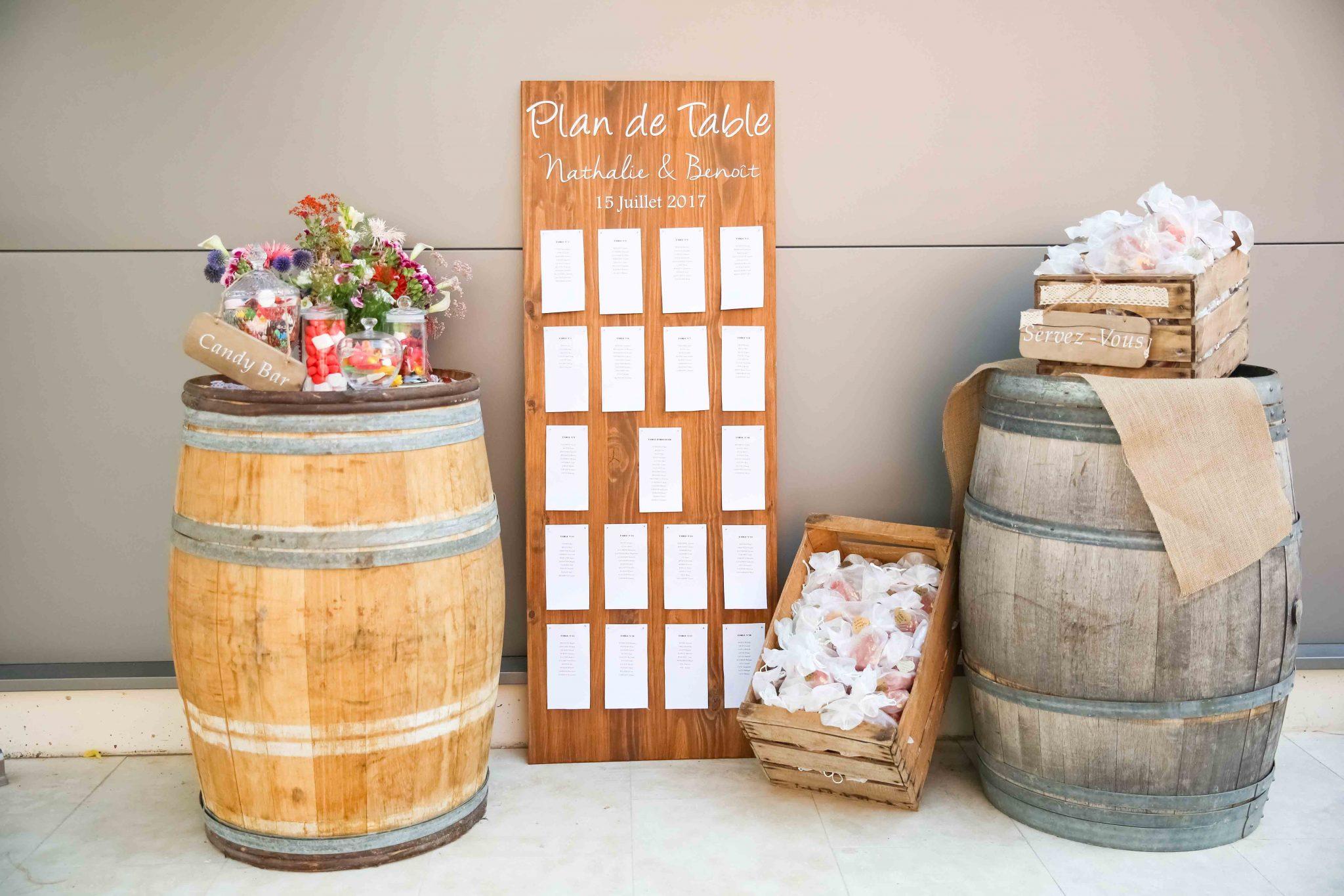 Plan de table wedding