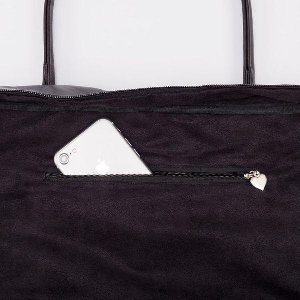 antony yorck holiday traveling bag weekender leather jet set blue and red white black detail 03