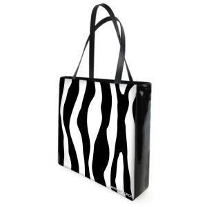 Antony Yorck Shoulder Bag mit Zebra Muster Rueckseite 129305