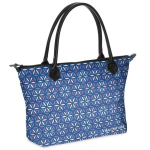 antony yorck shopper tasche vivalifa floral pattern print style purple white blue 140115 01