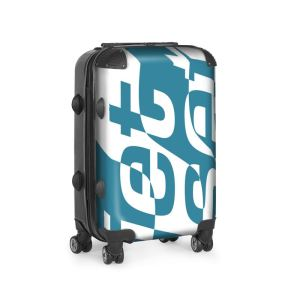 antony yorck trolley suitcase airplane hand luggage jet set blue white black 144625 01