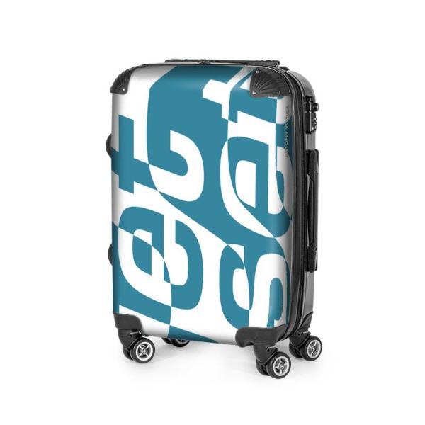 antony yorck trolley suitcase airplane hand luggage jet set blue white black 144625 02