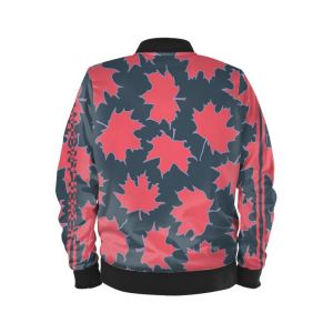 antony yorck blouson bomberjacke ml 005 maple leaf magenta blue grey black 161038 02