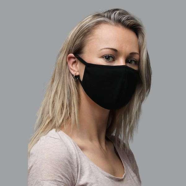 Antony Yorck Shop Angebot Mund Nasen Maske Mund-Nasen-Maske im 3er-Pack Gesichtsmaske Mundschutz mit Biozid imprägniert Größe S Damen FMS11170514