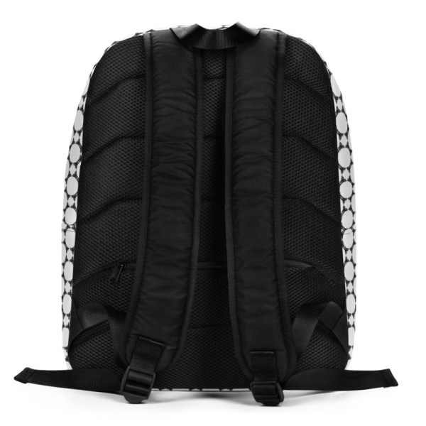 Antony Yorck • Rucksack • Fashion Brand Logo Pattern • collection TOBUSY 4 antony yorck rucksack backpack logo fashion brand patternschwarz weiss angebot 0001