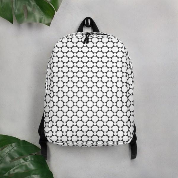 Antony Yorck • Rucksack • Fashion Brand Logo Pattern • collection TOBUSY 6 antony yorck rucksack backpack logo fashion brand patternschwarz weiss angebot 0002