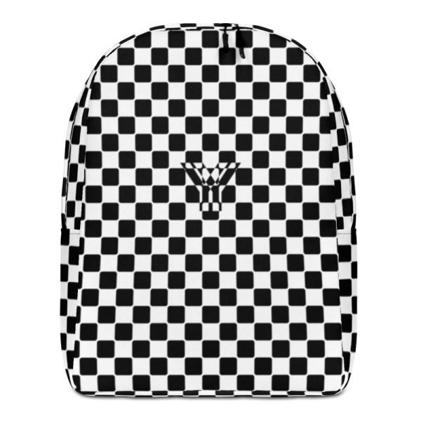 Antony Yorck • Rucksack • Caro Pattern mit Geheimfach • collection TOBUSY 1 antony yorck rucksack backpack caro patternschwarz weiss angebot 0013