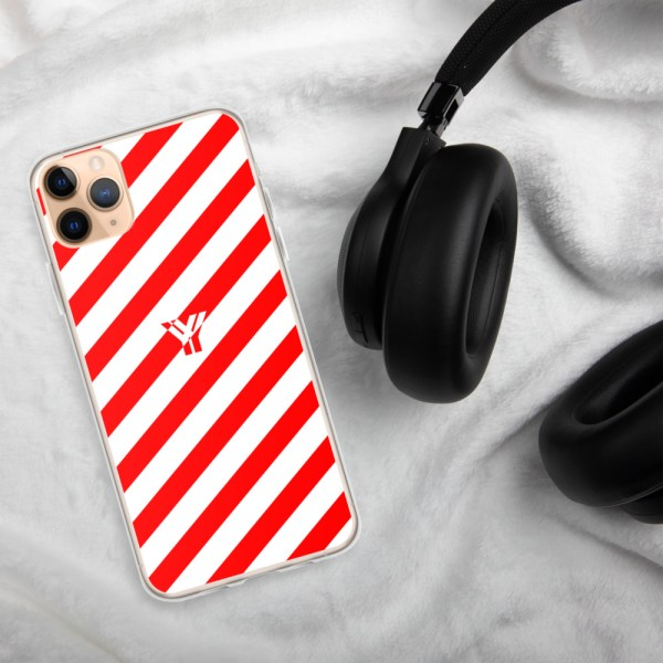 Antony Yorck • IPhone Hülle white and red • Collection OBVIOUS 7 mockup 49927de2