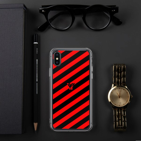 Antony Yorck • IPhone Hülle black and red • Collection OBVIOUS 24 mockup 938af198